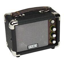 BRAND NEW TIKI UKULELE AMPLIFIER PORTABLE UKE AMP BLACK TK-UA1-BK with WARRANTY