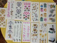 Creative Memories Wedding Sticker pack Scrapbook Marriage