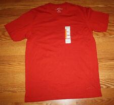 New Mens EDDIE BAUER Red Pocket Basic T Shirt Sz XL X-Large