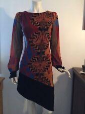 Save the queen, sublime robe asymétrique, taille 38/40
