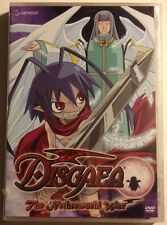 DISGAEA - Vol. 3: The Netherworld War - MINT NEW SEALED DVD!!