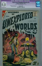 Mysteries of Unexplored Worlds #10 November 1958 CGC 4.0 Ditko cover and art