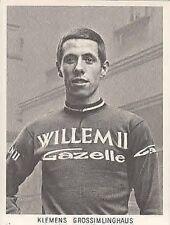 KLEMENS GROSSIMLINGHAUS Wielrennen Cyclisme 60s WILLEM II Gazelle Ciclismo vélo