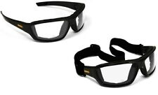 DEWALT DPG83-11 Converter Clear Lens Safety Glasses Goggles Anti-Fog Foam Padded
