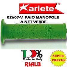 "Coppia / Paio Manopole A-NET VERDE "" ORIGINALI ARIETE ""  02607-V per KAWASAKI"