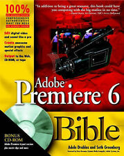 USED (VG) Adobe Premiere 6 Bible, with CD by Adele Droblas