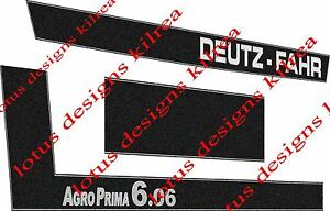 deutz fahr Agro Prima6.06 stickers / decals