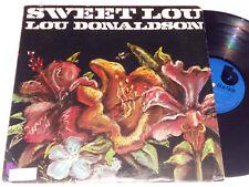 LOU DONALDSON Sweet Lou NM Blue Note