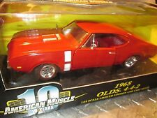 68 OLDS OLDSMOBILE CUTLASS  442  AMERICAN MUSCLE 1/18  ERTL  RALLY wheels