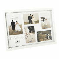 Amore Wedding day Collage Photo Frame holds 5 pictures gift Idea NEW  19549