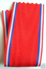 FRANCE: Ruban NEUF 14 cm x 37 mm pour la médaille de Verdun, 1914-1918.