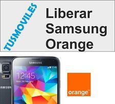 Liberar Samsung Orange cualquier modelo prácticamente