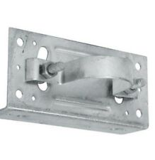 WOOD FENCE TO ROUND STEEL POST WOOD FENCE ADAPTER BRACKET: 1_7_8 IN. & 1-5-8 IN.