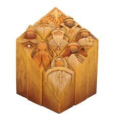 Enesco Pillars of Heaven 10-Inch Nativity Set Set of 9