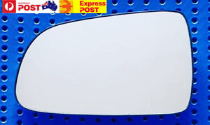Left mirror glass to suit HOLDEN BARINA TK HATCH 07/2008-09/2011 Heated w base