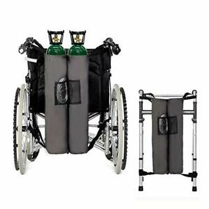 Oxygen Cylinder Bag Tank Backpack Holder Durable For Wheelchairs D & E