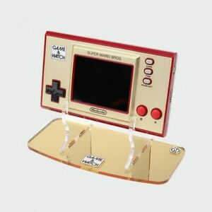 Game & Watch Gold 35th Anniversary Edition Console Stand - Acrylic Holder