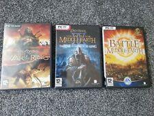 3 el señor de los anillos de PC Juegos.. Guerra del Anillo, 2 la batalla por la tierra media