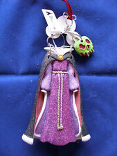 Disney * EVIL QUEEN * Clothes Hanger & Poison Apple - New Holiday Ornament