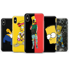 Simpsons Phone Case Cover Fits iPhone Phone Case Silicon Homer Bart