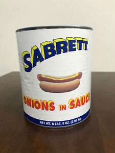 SABRETT HOT DOG ONION SAUCE, GRAVY, DIP Free Shipping