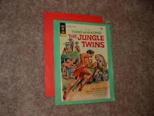 1972 Gold Key Tono and Kono The Jungle Twins 1 Solid Fine Free Shipping