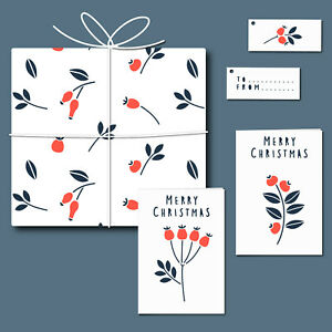 Berries - Card, Tag & Wrap Stencil Set - Create your own stationery - 11031SET