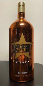 Moscow Mauler Vodka Empty Bottle Signed, Original Autographed by Vladimir Kozlov