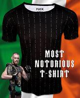 Original FUCK YOU Herren T-Shirt Conor McGregor Floyd Mayweather UFC MMA Boxen