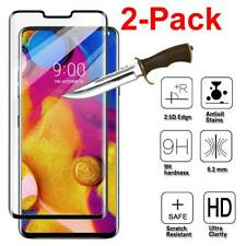For LG V40 ThinQ Full Covered 9H Tempered Glass Screen Protector Clear View Film