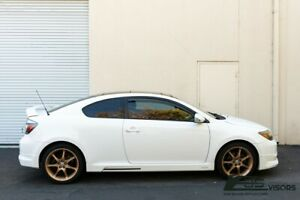 EOS Visors For 05-10 Scion tC ANT10 JDM IN-CHANNEL Side Vents Window Deflectors