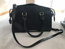 Authentic pre owned Burberry Satchel - 100% Calf Grain Leather