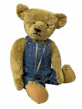 "Lovely antique big American teddy bear 61cm - 24"" 1920's"