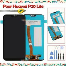 LCD ECRAN POUR HUAWEI P20 LITE VITRE TACTILE CHASSIS DISPLAY NOIR + OUTIL OEM