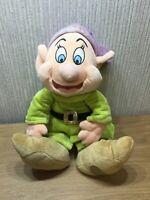 "Disney Dopey Plush Teddy Soft Toy Collectable Snow White & 7 Dwarfs 15"" Stamped"
