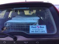 FIRST BUS pair of window bills for car/van rear window