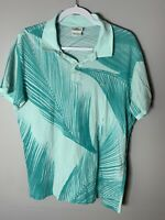 Lacoste Men's Shirt Size 7 X-Large Made in Morocco Designed in France Palm Tree