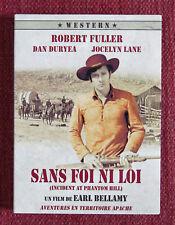 SANS FOI NI LOI, incident at phantom hill, Bellamy, Fuller, Duryea, Lane, DVD
