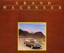 1984 JEEP GRAND WAGONEER BROCHURE -JEEP GRAND WAGONEER