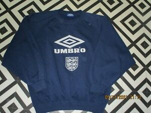 MENS 90S VINTAGE UMBRO SWEATSHIRT GC SPELLOUT HIPSTA RAVE SAYS XL OVERSIZED