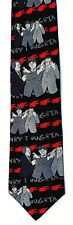 3 Stooges Cartoon Mens Silk Neck Tie Comedy Necktie Moe Larry Curly Gift New