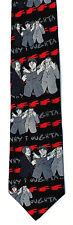 3 Stooges Cartoon Mens Silk Neck Tie Comedy Necktie Moe Larry Curly Gift
