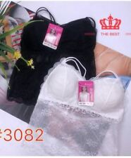 SANDO TUBE BRA bust 32-36 #3082 (LH) (BLACK & WHITE) BUY 1 TAKE 1