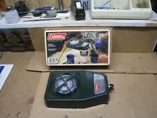 Vintage 1985 Coleman Single Burner Propane Camping Stove w/ Original Box