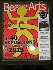 Beaux Arts Magazine N° 343 FLUXUS YUE MINJUN HIROSHIGE NIEMEYER 40 EXPOSITIONS