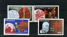 RWANDA 1982 Sc#1103-1106 FAMOUS PEOPLE ROBERT KOCH SET OF 4 STAMPS MNH