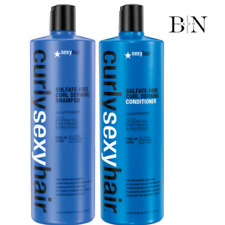 SEXY HAIR CURLY CURL DEFINING SHAMPOO 1000ML & CONDITIONER 1000ML DUO