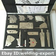 Metric 16PK welding inspection gauge Kit V-WAC Single Purpose HI-LO Welding Gage