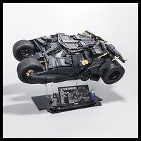 Batmobile Tumbler Acrylic Display Stand for LEGO model (76023)