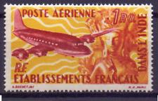 DANS L'INDE FRANCE 299 MnH poste aerienne, airoplane, flugzeuge  0701